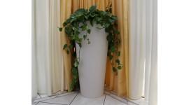 Pot de fleurs design d'extérieur - Élancé Rond