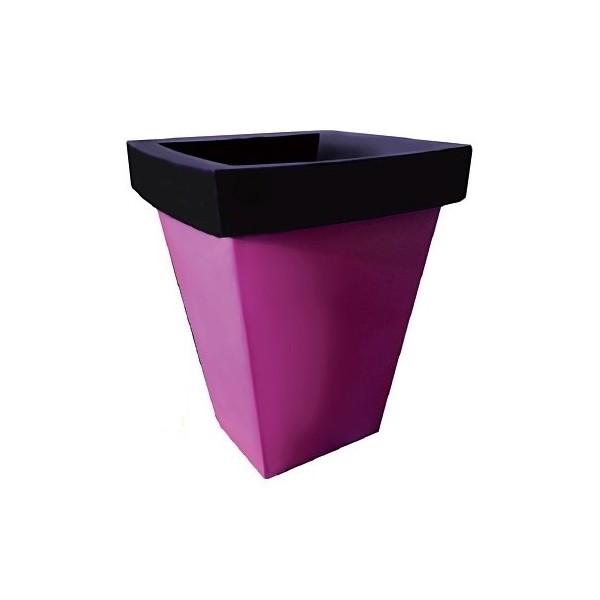 pot non lumineux carr 2 couleurs so luz. Black Bedroom Furniture Sets. Home Design Ideas